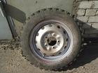 Фото в Авто Колесные диски Продам комплект колес на Ниву 175/80 р16 в Саратове 7000