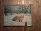 Изображение в   Продам картину «Лиса» в отличном состоян в Саратове 3000