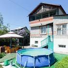 Двухэтажная кирпичная дача, село Пристанное