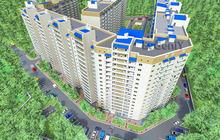 1-комнатная квартира в новом кирпичном доме, ЖК на Блинова