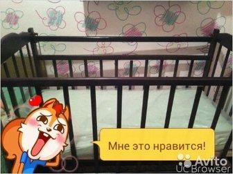 Новое фотографию  Кроватка качалка и матрас 34055441 в Саратове