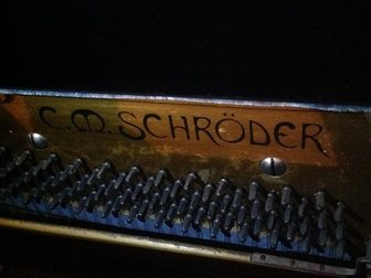 Новое фотографию  Антикварное Фортепиано Schroder 34332151 в Саратове