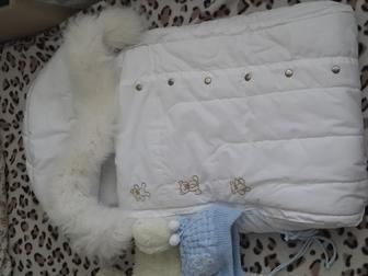 Уникальное фотографию Детская одежда Зимний конверт 35797816 в Саратове