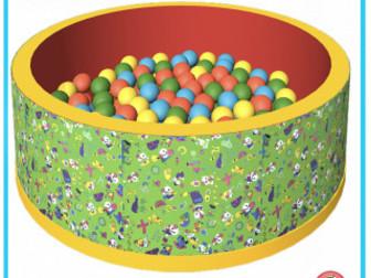 Скачать бесплатно фото Детские игрушки Сухой бассейн Romana «Веселая полянка» 63719371 в Саратове