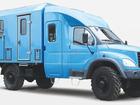 Просмотреть foto Вахтовый автобус ГАЗ-33081 Тайга с двухрядной 7-местной кабиной и спецфургоном-автомастерской 33262706 в Севастополь