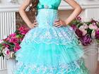 Фотография в Для детей Детская одежда Размер 116-128  Ослепительное бальное платье в Шахты 4000