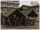Свежее фото Строительные материалы Деревянные беседки из бруса в Крыму 66639189 в Симферополь
