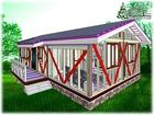 Скачать фотографию Доменные имена Быстро построить деревянный дом 103 м, кв, в Крыму 73578012 в Симферополь