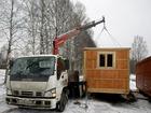 Изображение в Строительство и ремонт Другие строительные услуги Краны-манипуляторы Isuzu Forvard и Mitsubishi в Смоленске 1500