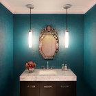 Декоративные работы в ванной комнате