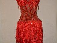 Продается платье латина Продается платье латина, Юниоры-2. Размер 42-44, цвет кр