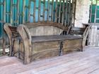 Скачать foto Мебель для дачи и сада Уличная мебель из массива дуба, лиственницы 30175697 в Сочи