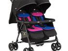 Скачать фотографию Детские коляски Коляска Joie Aire Twin / Pink and blue (Коляска для двойни Розовый и Синий) 53105419 в Сочи