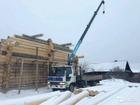 Уникальное foto  услуги грузовика с краном манипулятором 38781118 в Солнечногорске