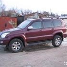 Toyota Land Cruiser Prado 3.0AT, 2004, битый, 220000км