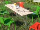 Фотография в Строительство и ремонт Строительные материалы Реализуем Лавочки для Вашего сада: Трех моделей. в Сосенском 2000