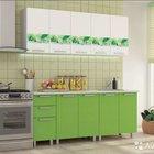 Кухонный гарнитур-скарлет
