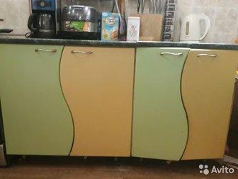 Б/У 220*140 размер, продаю без мойки возможен торг! Название кухни: Волна, в Старом Осколе