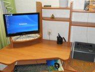 Компьютерный стол Стол предназначен: как для компьютера, так и для выполнения на