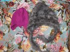 Изображение в   Зимняя пуховая шапка+к ней уголка в Сургуте 550