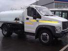 Смотреть фото Грузовые автомобили Молоковоз Газон Некст 4,2 м3 (новый водовоз) 38497260 в Калининграде