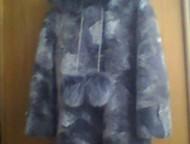 Продам мутоновую шубу Шуба серого цвета, с капюшоном, мех натуральный. Длина шуб