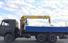 Услуга манипулятора перевозка грузов