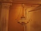 Свежее foto Светильники, люстры, лампы ЛЮСТРА старинная Каплевидной формы с хрусталиками на цепях 38573313 в Тюмени