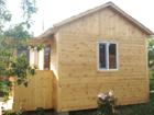 Свежее фото Строительство домов Каркасный деревянный дом 5 м х 4 м с крыльцом 43833939 в Тюмени