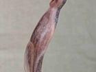 Просмотреть foto Антиквариат, предметы искусства Кот, Статуэтка резная,ручной работы, 57283377 в Тюмени