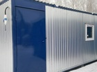 Новое изображение Строительные материалы Вагон-бытовка 6 х 2,4 на металлокаркасе с утеплением 100 мм. 68619251 в Тюмени
