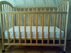 Изображение в Для детей Детская мебель Продам детскую кроватку +матрасик +одеяло в Тольятти 2500