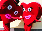 Уникальное изображение  Продам 2 ростовые куклы Сердца 34133674 в Томске
