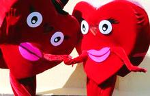 Продам 2 ростовые куклы Сердца