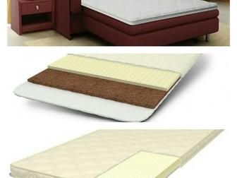Скачать изображение Мебель для спальни Наматрасник ортопедический (тонкий матрас) 32476875 в Томске