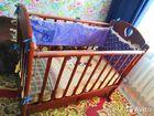 Детская кровать качалка (кроватка)