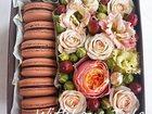 Смотреть фотографию Разное Коробочки с цветами и пирожными макаронс 32506390 в Туле