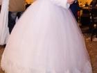 Фотография в   Красивое свадебное платье белого цвета, одевалось в Туле 10000