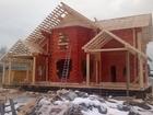 Изображение в Услуги компаний и частных лиц Разные услуги Строительство домов и бань из профилированного в Твери 8000