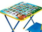 Детский столик с азбукой