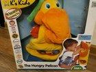 Голодный пеликан игрушка