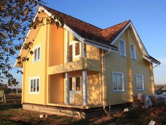 Скачать изображение  Строительство домов таунхаусов бань коттеджей из сухого профилированного бруса 32902223 в Москве