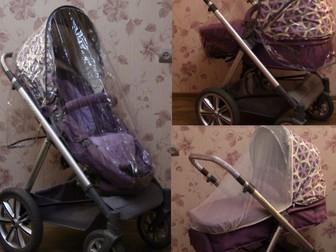 Смотреть foto Детские коляски Коляска-трансформер 2в1 Happy Baby Ultra Purple 38660266 в Твери