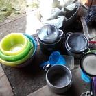 продам холод. витрину, печь конвекц, вывески, посуда для кухни
