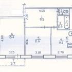 Свободная продажа 2-комн, квартиры 50 кв, м в Затоне
