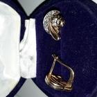 Продам серьги с бриллиантами, желтое и белое золото 585 пробы