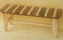 Скамейки и лавки из африканского абаша