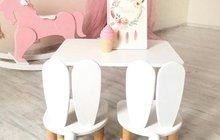 Столик и стульчик «зайка»