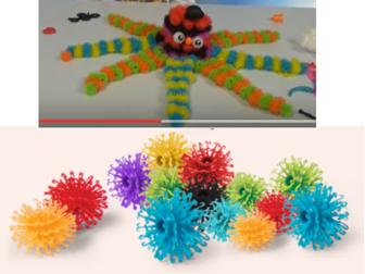 Новое изображение Детские игрушки Мягкий конструктор-липучка Банчемс 400 деталей 37192539 в Уфе