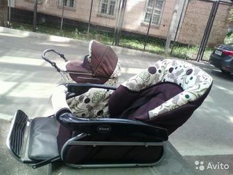 Смотреть foto Детские коляски коляска 2 в 1 Rjan kortina 37573590 в Уфе